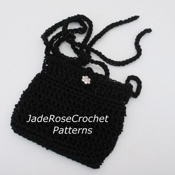 Crochet Shoulder Purse Pattern Crochet Mini Bag Pattern Mini Etsy