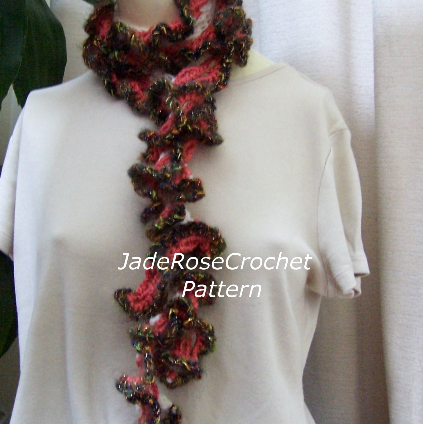 Ruffle Scarf Crochet Pattern Best Design