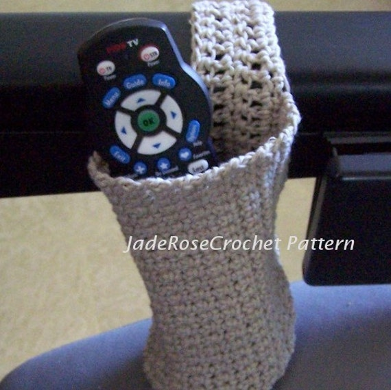 Crochet Cozy Cozy For Bottle Or Remote Walker Or Wheelchair Etsy