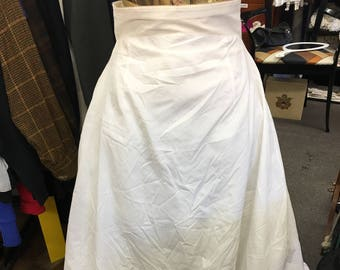 30e39f5d778 Vintage Crinoline Bridal Slip   Undergarment Something Old Bridal Gifts  SHARP Full