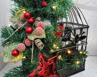 christmas birdcage home decor lighted christmas birdcage christmas decorations decorative christmas birdcage holiday light birdcage