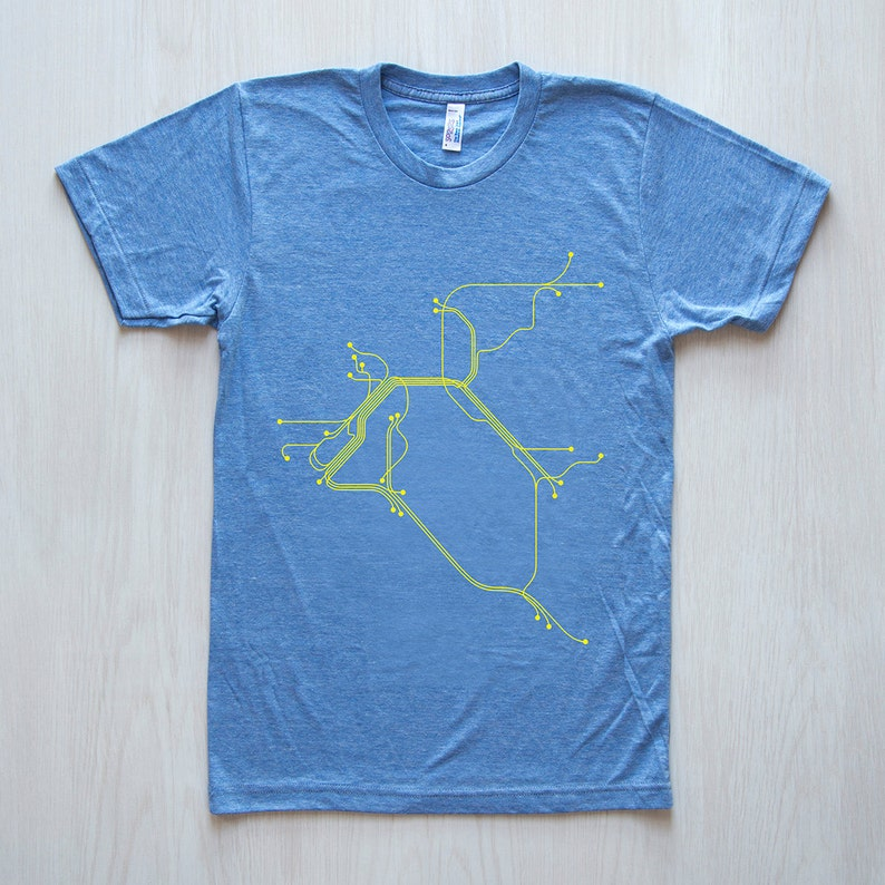 San Francisco T-Shirt Athletic Blue/Yellow image 0