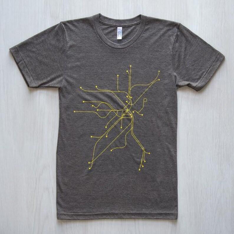 Boston T-Shirt  Coffee/Yellow image 0