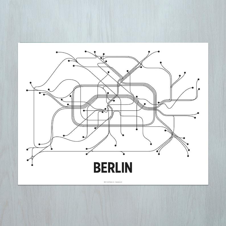 Berlin Lithograph  Black/White image 0