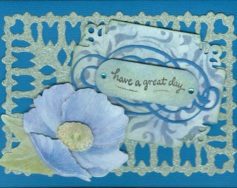 Birthday card, all occasion greeting card
