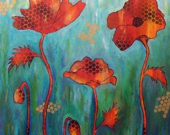 Original painting, home decor wall art