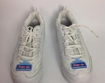 29110c63c2b Sale Vtg Womens Skechers Shape Ups White Sneakers Sz 8.5