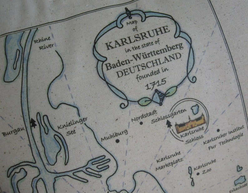 Karlsruhe Palace, Baden-Wurttemberg, Deutschland, Germany, Vintage on map of rastatt, map of münster, map of monchengladbach, map of saarland, map of basel, map of osterholz-scharmbeck, map of nurtingen, map of nordlingen, map of marburg, map of herzogenaurach, map of porto, map of hamm, map of bowbells, map of hindenburg, map of schwaben, map of bruchsal, map of oberpfalz, map of remagen, map of holzkirchen, map of cochem,