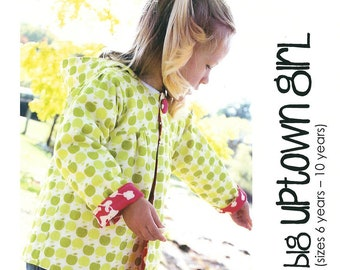 Hooded Jacket Raincoat Sewing Pattern - Uptown by Make It Pefect,  6 - 10 years