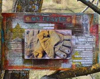 Western Wall Art Wood, Bible Verse Wall Art Wood, Scripture Art - by Jodene Shaw