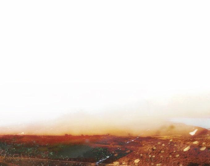 Abstract Desert Landscape Sea Spray / Hwy 14 64