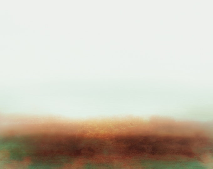 Abstract Desert Landscape Sand Flower Storm / Becoming #19