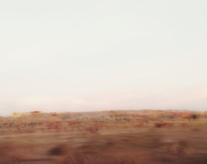 Abstract Desert Landscape Photography Sea Wall / Hwy 14, 18
