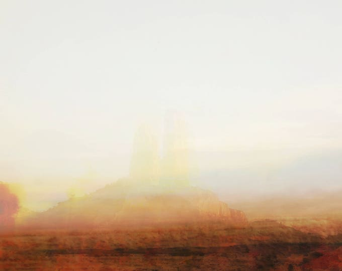 """Abstract Desert Landscape Photography """"Becoming, #14"""""""