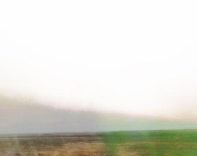 Abstract Desert Landscape Becoming / Sea Fields #36