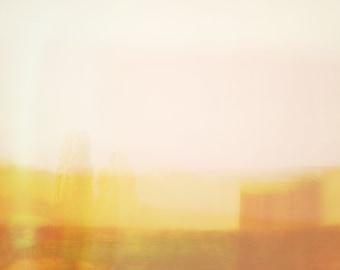 Abstract Desert Yellow Landscape #99