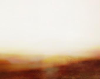 Abstract Minimalist Desert Landscape 09