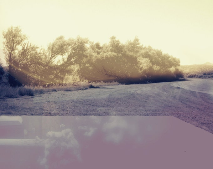 Abstract Desert Landscape Duality #11