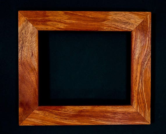 8x10 Handcrafted Exotic Hardwood Frames Photo Frames Art Etsy