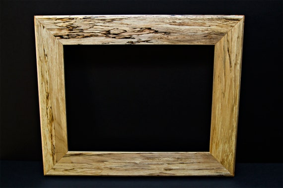 Vintage Hancrafted Reclaimed Spalted Maple Picture Frames Etsy