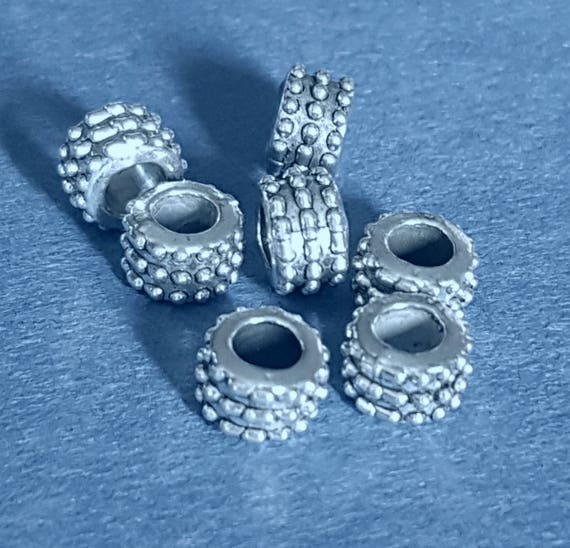 100pcs Metal Tibetan Silver Star 15x12x1mm