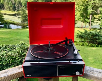 Rca record player   Etsy