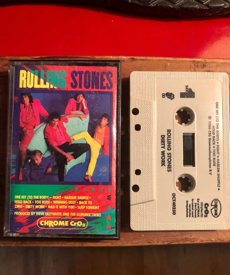 Rolling Stones - Dirty Work - Cassette