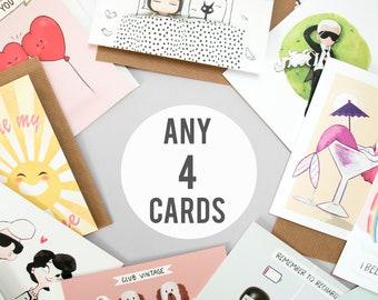 Any 4 Cards