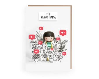 Plant Greetings Card