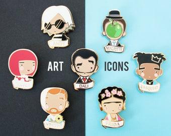 ARTIST Icon Pin