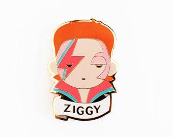 David Bowie ZIGGY Pin Brooch jewellery