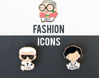 Fashion Icon Pin