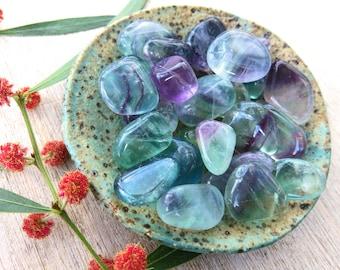 Fluorite Tumble Stone