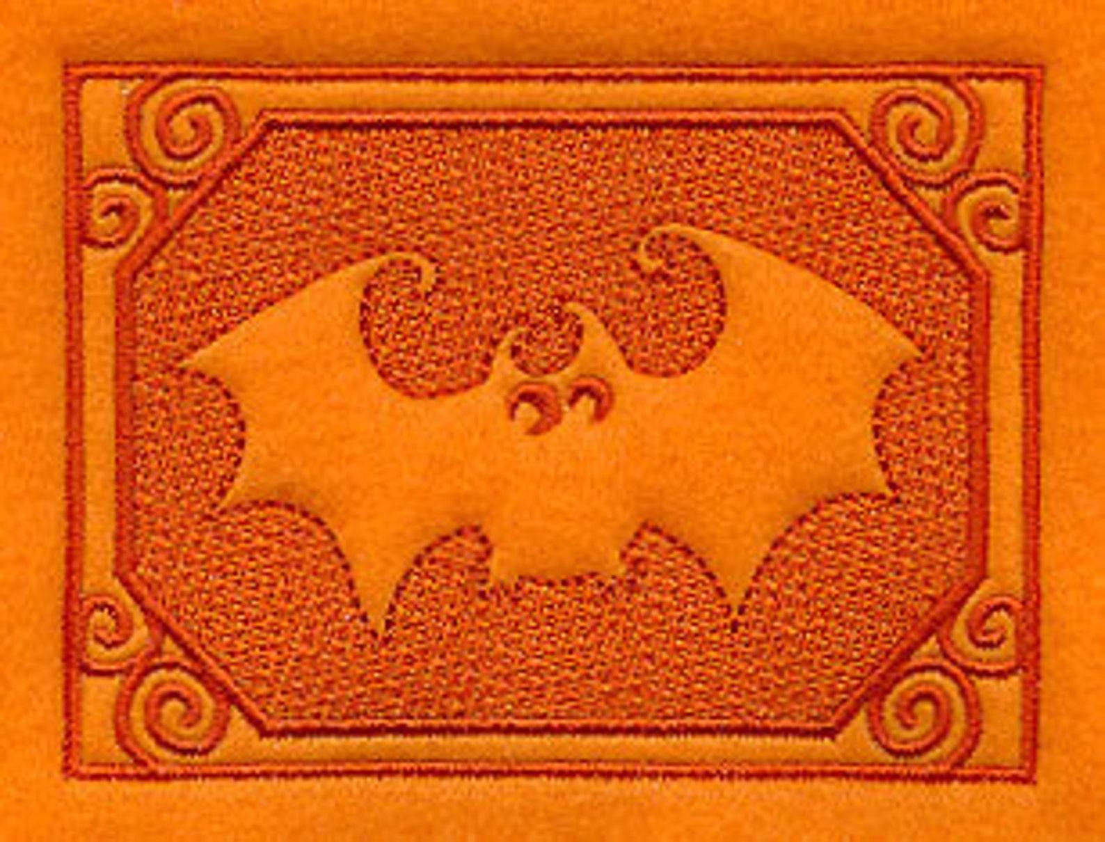 Halloween Bat Kitchen Towels Page Three