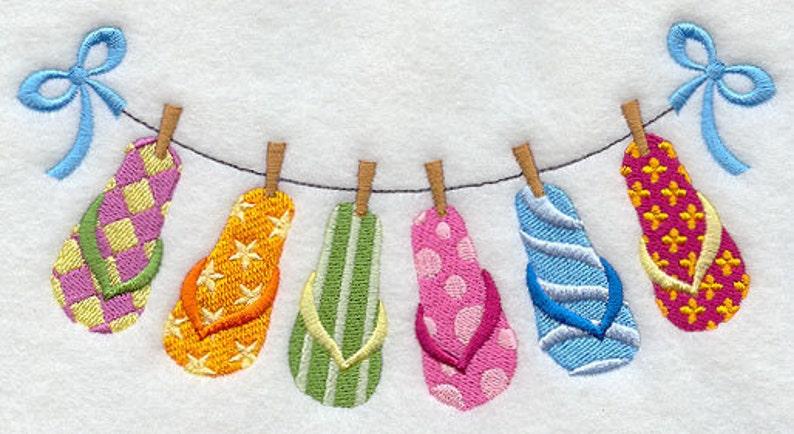 55f0644b1c565b Flip Flop Flip Flap Sandal Clothesline Embroidered Waffle