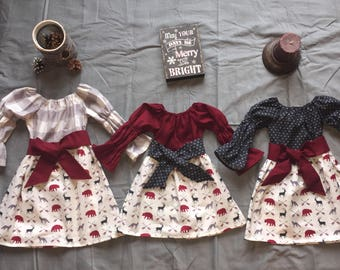 43e797509cd5 coordinating holiday outfits for toddler siblings. crimson corduroy ...