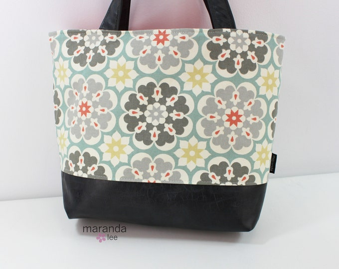 Lulu Large Tote Medallion READY to SHIP