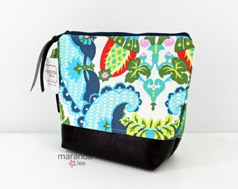 AVA Medium Clutch - Harriets Kitchen with PU Leather READY to SHIp