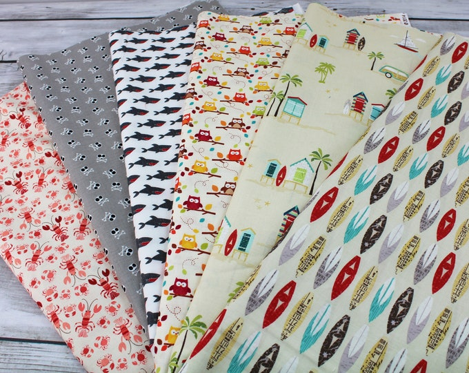 Napkins set of 4 - You Choose Fabric - Novelty Table Linens - Limited Availability