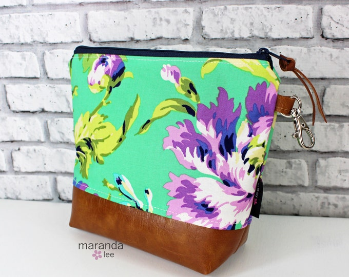 AVA Medium Clutch -Bliss Purple  with PU Leather  READy to SHIP