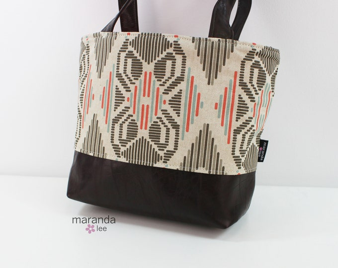 Lulu Medium Tote Bag Aztec READy to SHIp