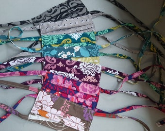 Masks for Charity- Shipped or Pickup -  With Ties