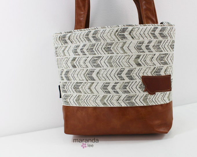 Lulu Medium Tote  Bag On Point  READy to SHIp