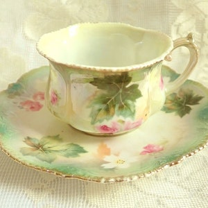 RS Prussia Fine Porcelain Teacup 1890s