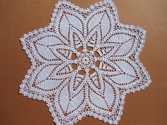 Crochet Doily Etsy