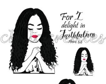 Faithfulness Print and Cut Digital download