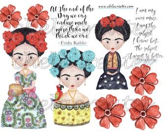 Frida Kahlo Printable