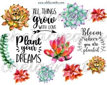 Plant Your Dreams Printable
