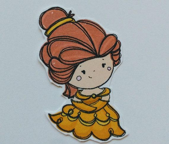 Belle Sticker Set