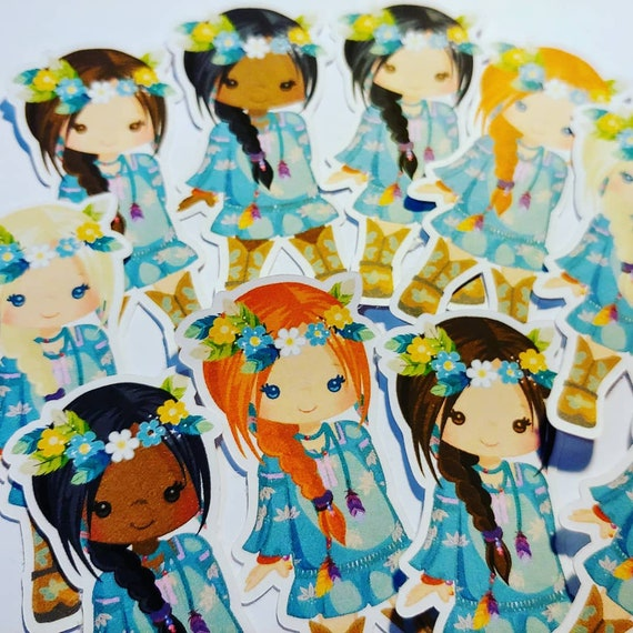 Bohemian Princess Mini stickers